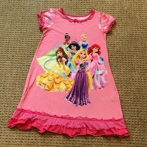 Girls size 9/10 Disney Store Princess Nightgown